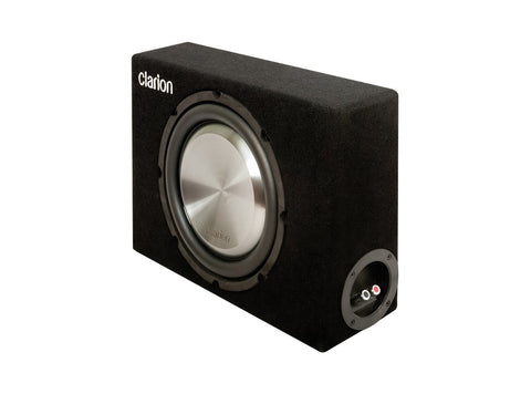 Clarion UB2520X 10″ (25CM) PASSIVE SUBWOOFER WITH ULTRA SLIM BASS-REFLEX BOX
