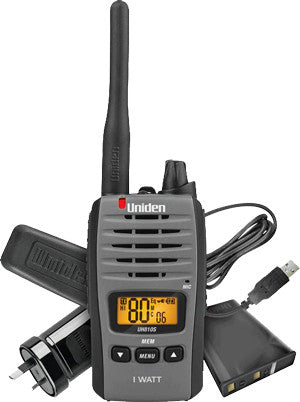 1 WATT UHF HANDHELD   (UH810S)