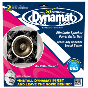 Dynamat Xtreme Speaker Kit 10415 (1.4ft / 0.13m)