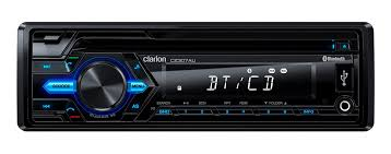 Clarion CZ307AU CD / USB / AUX-IN / SD / MP3 / WMA RECEIVER WITH BUILT-IN BLUETOOTH