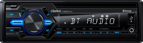 Clarion FZ307AU USB / AUX-IN / SD / MP3 / WMA RECEIVER WITH BUILT-IN BLUETOOTH