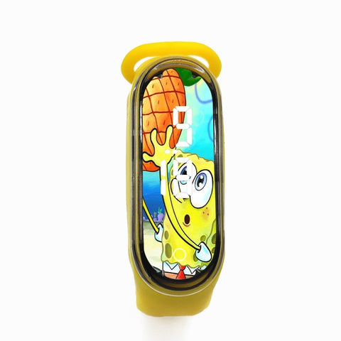 Kids Watches Cartoon LED Sports Clock Fashion Watch For Girls Boys