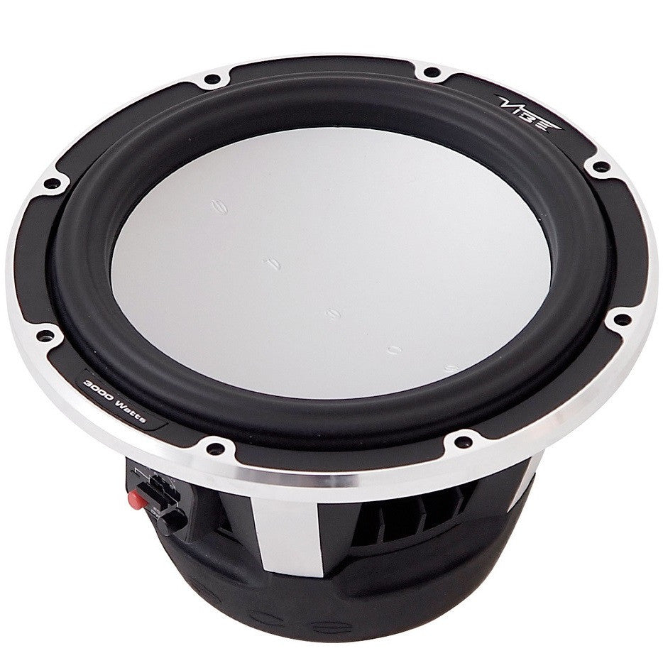 "Vibe 12"" Space Subwoofer - SQ and SPL in a single subwoofer"