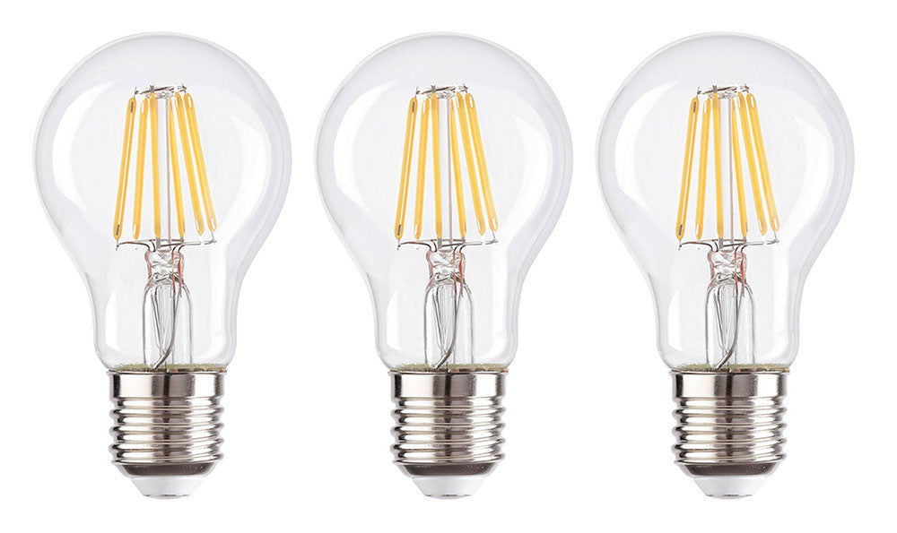 Watts Clever inlight 6w E27 Edison Super Low Energy Globe Style LED Light Bulb