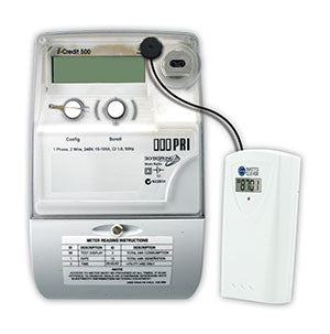 Watts Clever EW4500 Wireless Energy Monitor Transmitter on Smart Meter