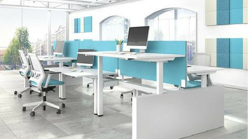 Ergonomic office desks and chairs