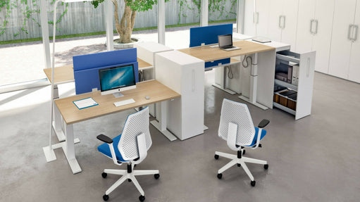 Ergonomic office desks