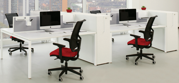 Desking System for Open Plan