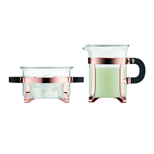 Bodum Copper Sugar and Creamer Set - 2