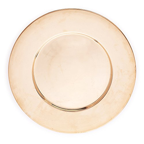 Kuprum Copper Charger Plate