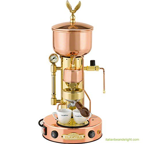 Elektra Copper and Brass Espresso Machine - 1