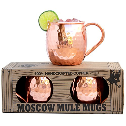 Morken Barware Moscow Mule Mugs Set of 2