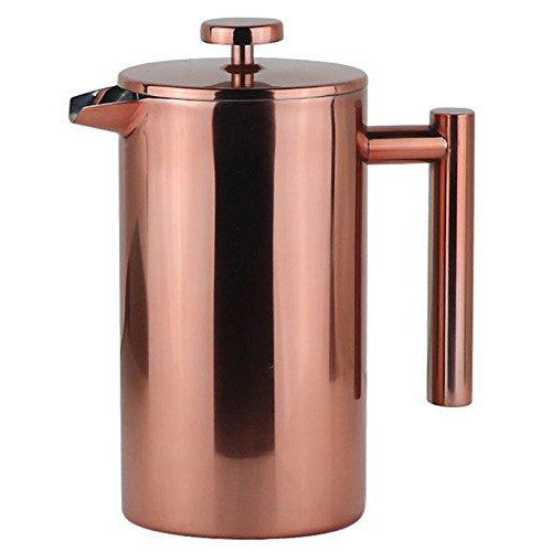 La Jolie Muse Rose Gold Copper French Press