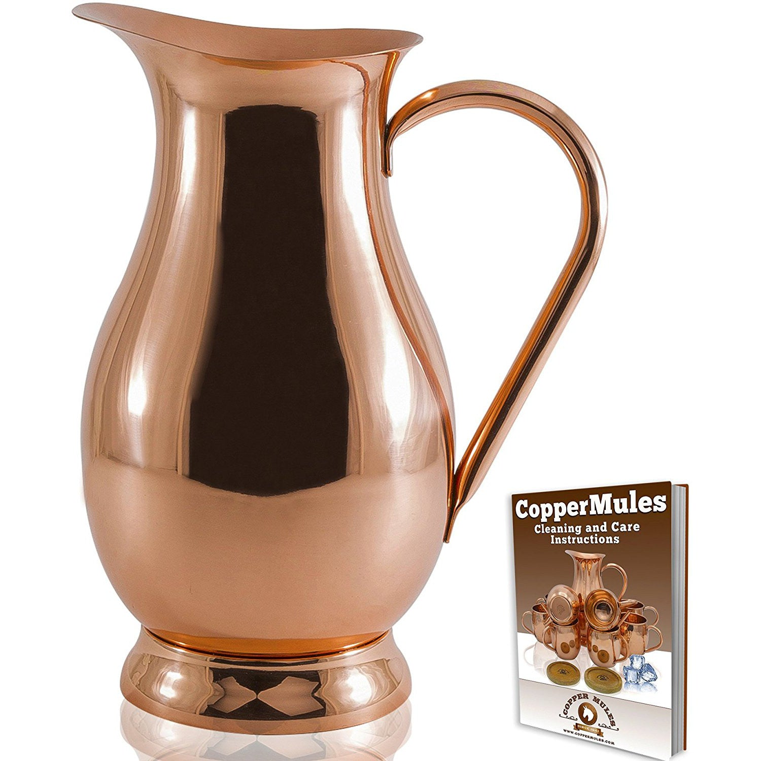 Copper Mules Pitcher and Ebook