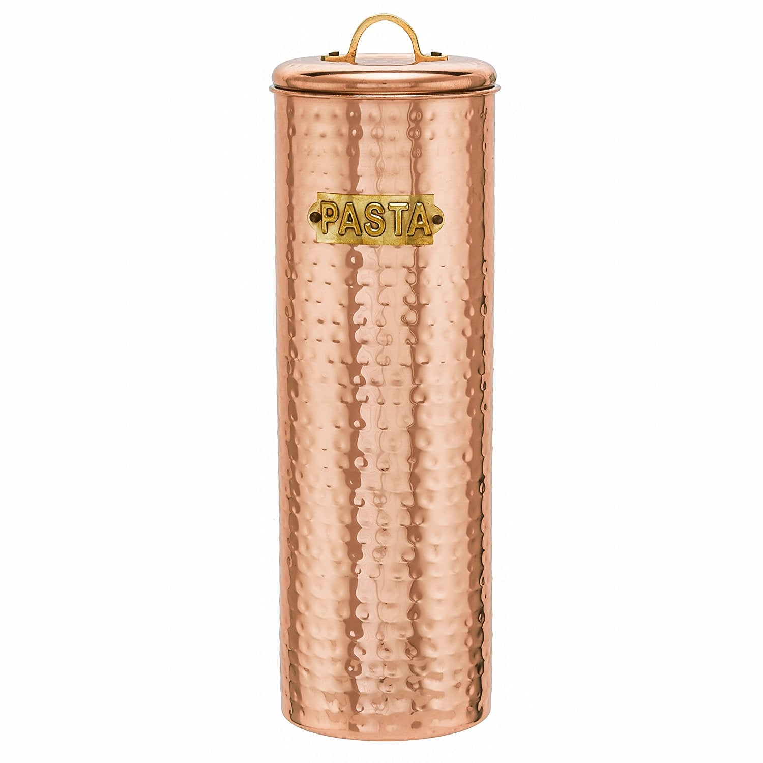 Old Dutch Copper Pasta Canister