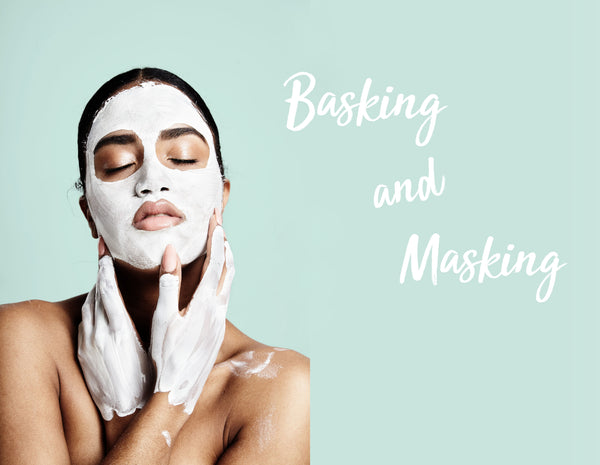 Nourish London Basking and Masking Probiotic Mineral Repair Mask