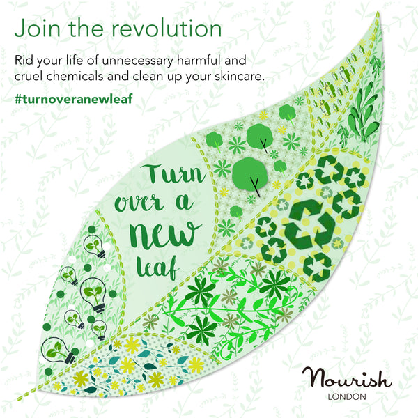 TURN OVER A NEW LEAF THIS VEGANUARY WITH NOURISH LONDON'S 100% VEGAN SKINCARE