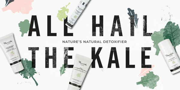 Nourish London All Hail the Kale, Natural Detoxifier for Skin