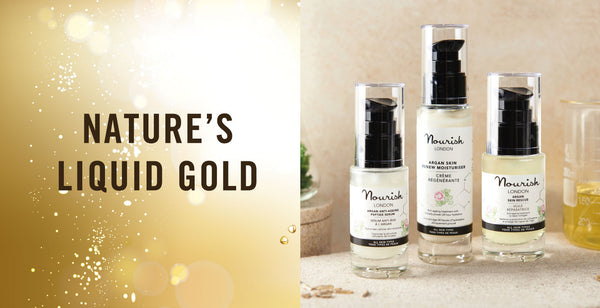 Nourish London Argan Oil - Nature's Liquid Gold