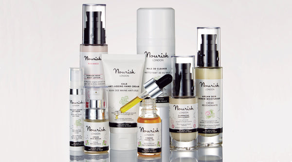 Nourish London Effective Organic Vegan Cruelty Free Skincare range