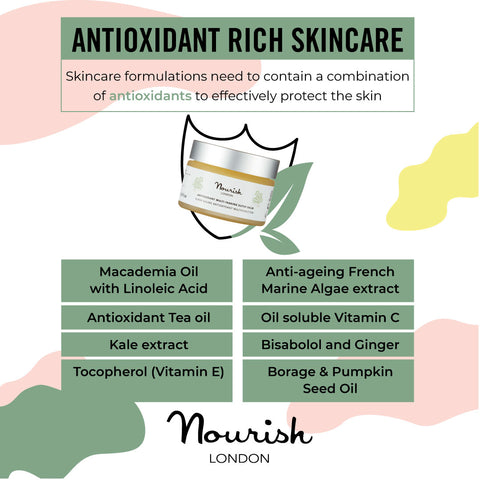 Nourish London Antioxidant Rich Skincare