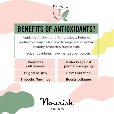 Nourish London Skincare Antioxidants Skin Benefits