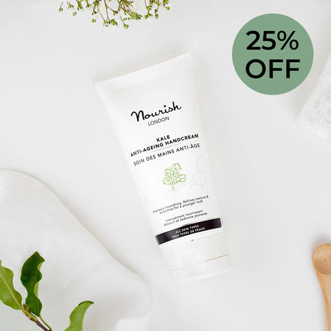 Nourish London Special Offer on Hand Care: 25% OFF
