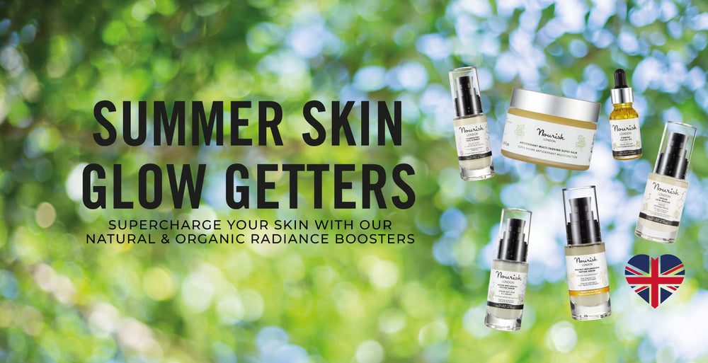 Nourish London Summer Skin Glow Getters to Boost Radiance
