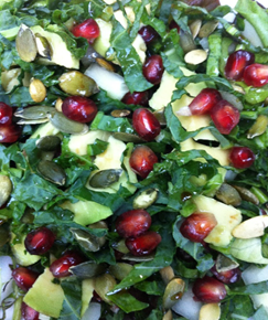 Nourish London Kale Detoxifying Salad Recipe
