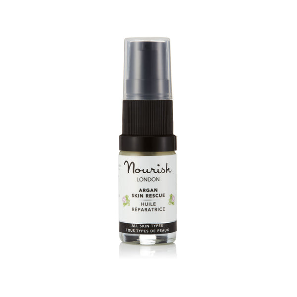 Nourish London Argan Skin Rescue Facial Oil Travel Size 5 ml
