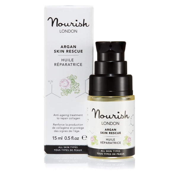 Nourish London Anti-Ageing Argan Skin Rescue Facial Oil