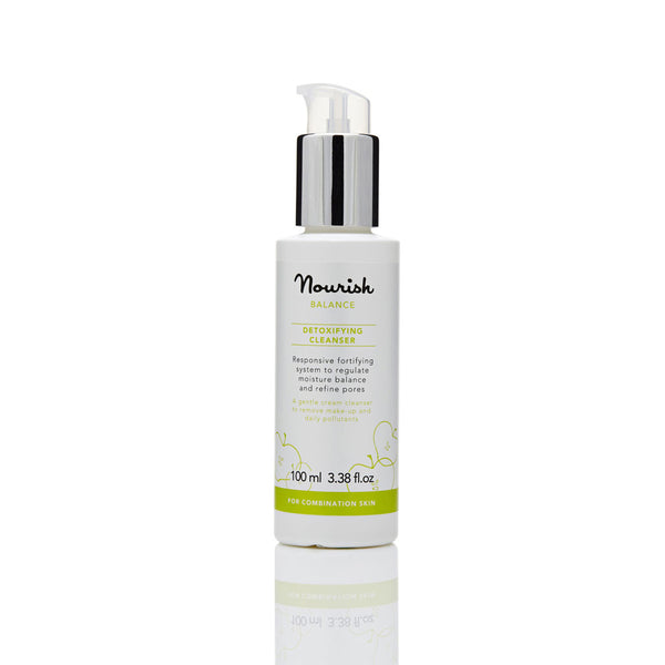 Nourish London Vitamin C Balance Detoxifying Cleanser for Oily Skin