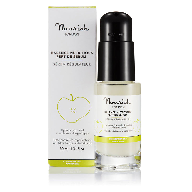Nourish London Balance Nutritious Peptide Serum Oily Skin