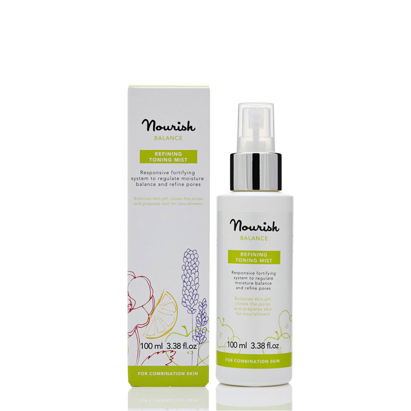 Nourish London Vitamin C Balance Refining Toning Mist Oily Skin