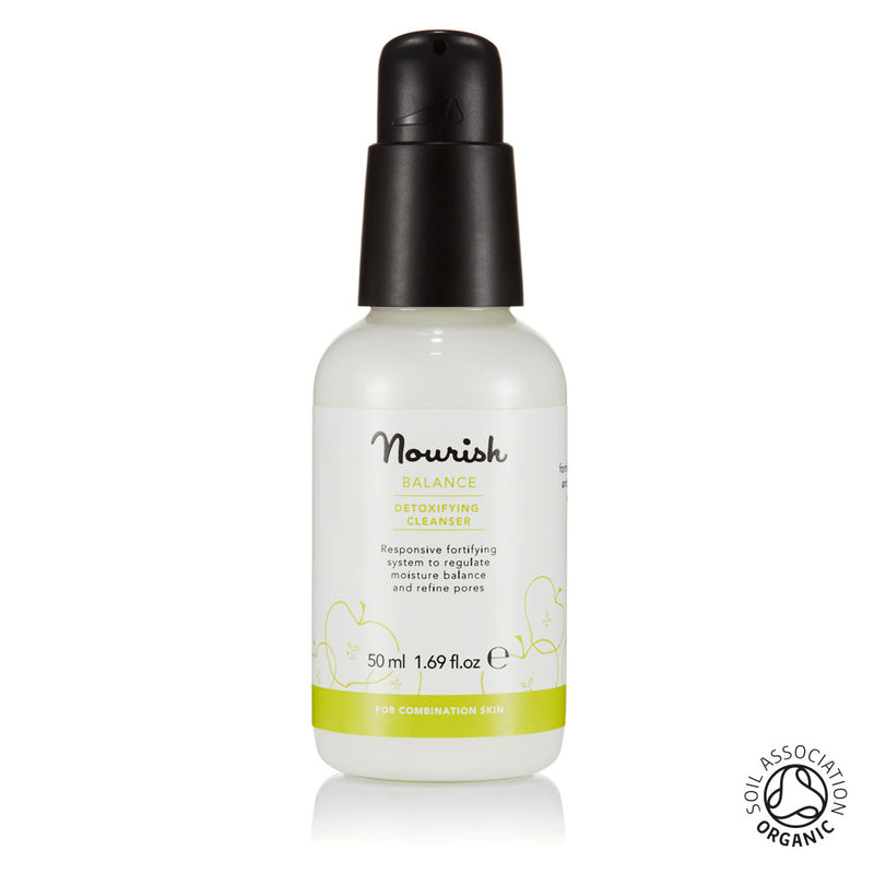 Nourish London Organic Certified Balance Detoxifying Cleanser Travel Size