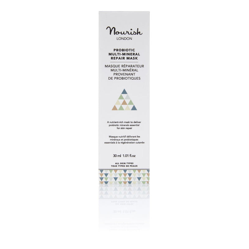 Nourish London Probiotic Multi Mineral Repair Mask Calming Soothing Skin with Lavender