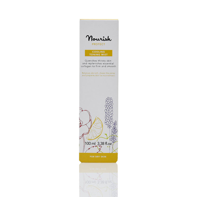 Nourish London Vitamin C Protect Cooling Toning Mist Dry Skin