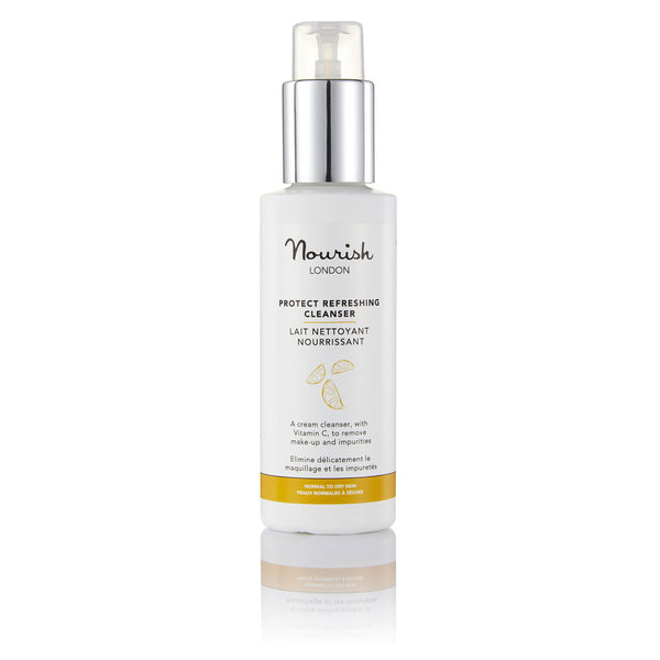 Nourish London Protect Refreshing Cleanser for Dry Skin