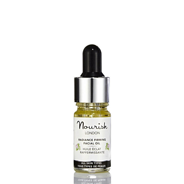 Nourish London Radiance Firming Facial Oil Travel Size 5 ml - Anti Ageing Acne Prone Skin