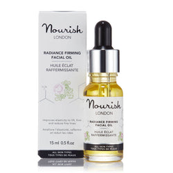 Nourish London Radiance Firming Facial Oil Certified Cosmos Natural - Anti-Ageing Acne Prone Skin