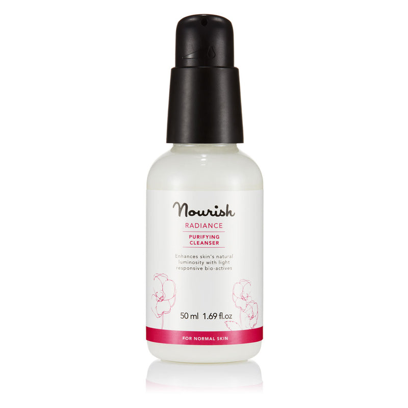 Nourish London Radiance Purifying Cleanser Travel Size