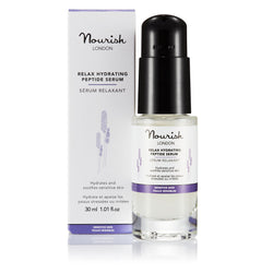 Nourish London Relax Hydrating Peptide Serum for Sensitive Skin