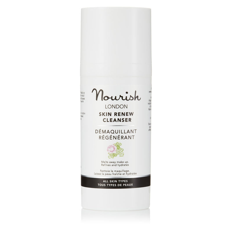 Nourish London Skin Renew Cleanser with Argan Travel Size 30 ml