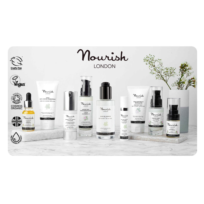 Nourish London Certified Organic Cruelty Free Vegan Alcohol Free Made in UK Skincare Online Gift Card