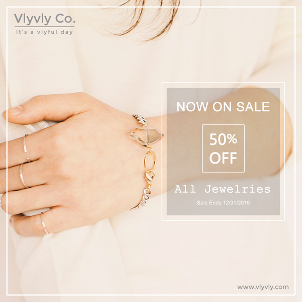 50% Off All Jewelry