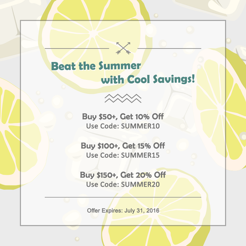Beat the Summer with Cool Savings!