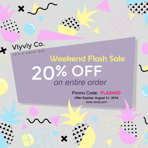 Weekend Flash Sale