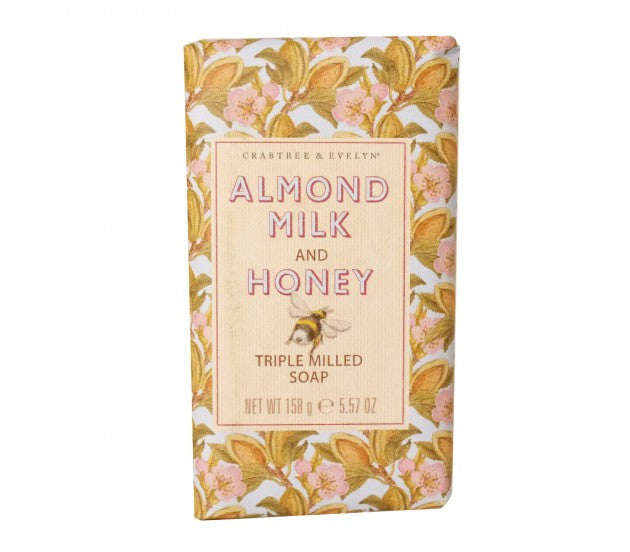 Crabtree & Evelyn Almond Milk and Honey Triple Milled Soap 5.57fl oz/158g