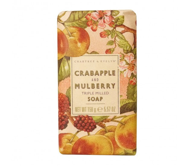 Crabtree & Evelyn Crabapple and Mulberry Triple Milled Soap 5.57fl oz/158g