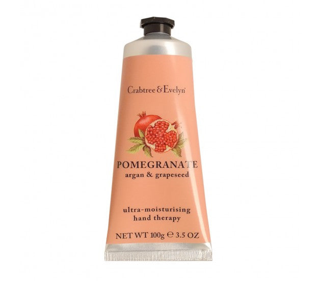 Crabtree & Evelyn Pomegranate Argan & Grapeseed Ultra-Moisturising Hand Therapy 3.5fl oz/100g